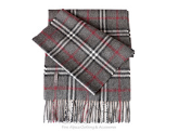 Scarves brushed woven plaid (CA)